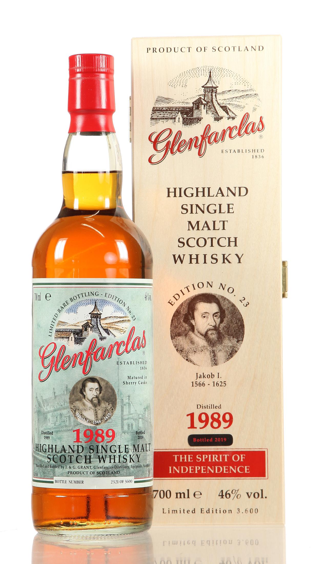 Glenfarclas No. 23 Jakob I.