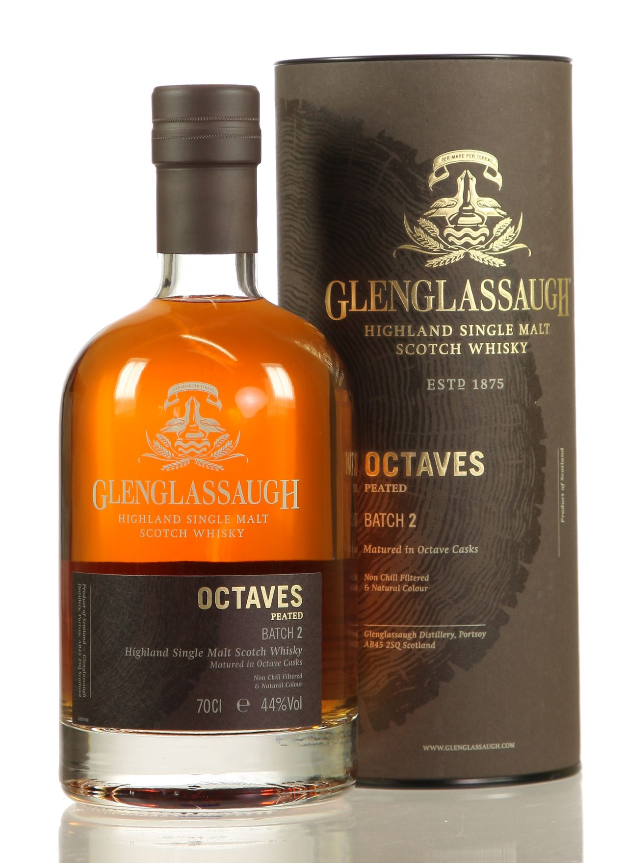 Glenglassaugh Octaves Peated - Batch No. 2