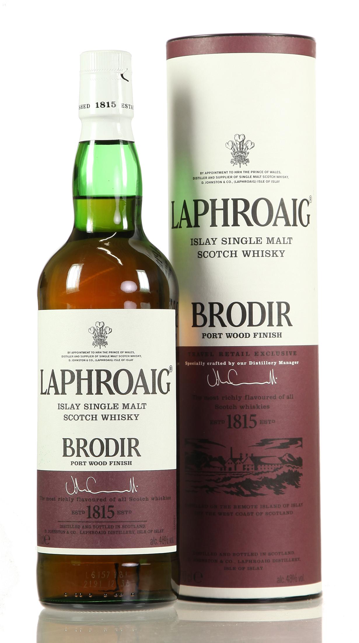 Laphroaig Brodir Port Wood Finished