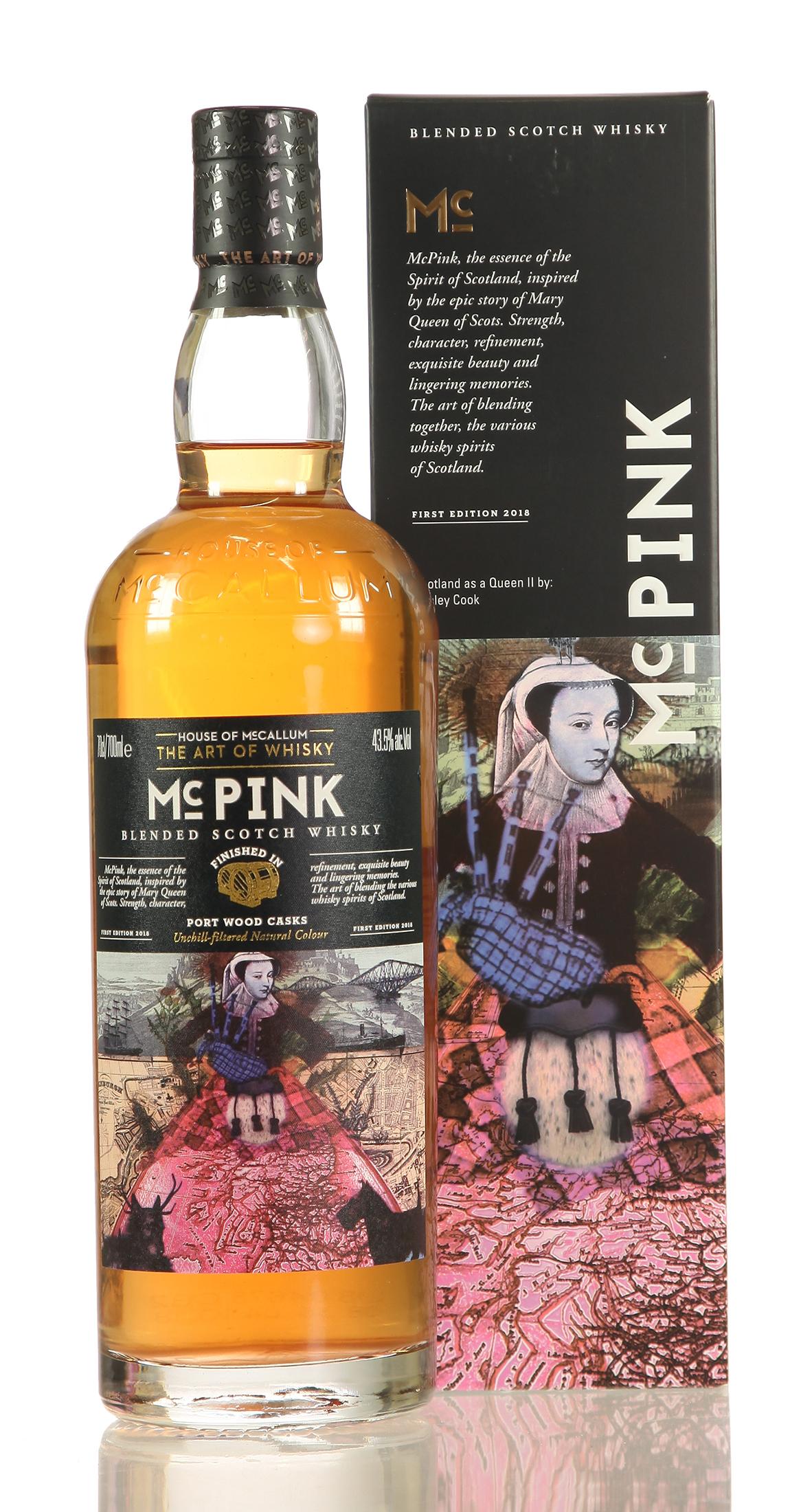 McCallum Pink - Port Finish