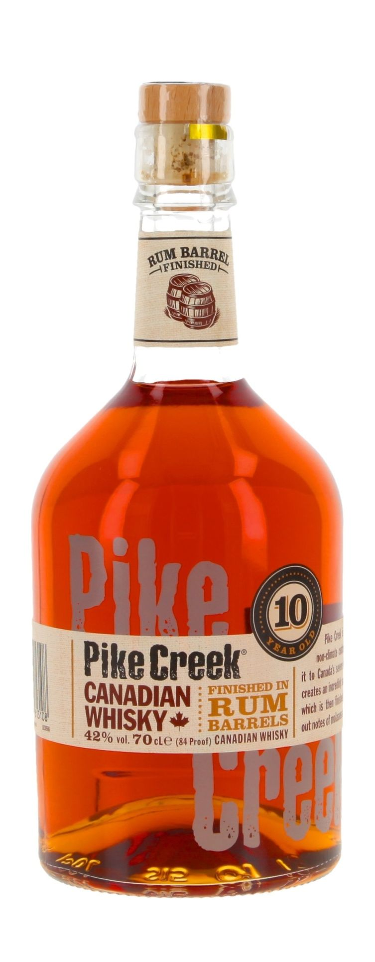 Pike Creek inkl. Untersetzer Canada 2 Stück