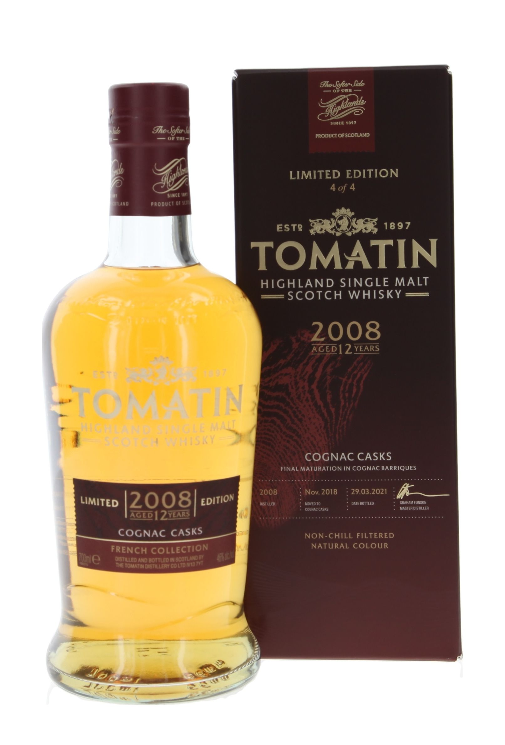 Tomatin Contrast 'Sherry & Bourbon'