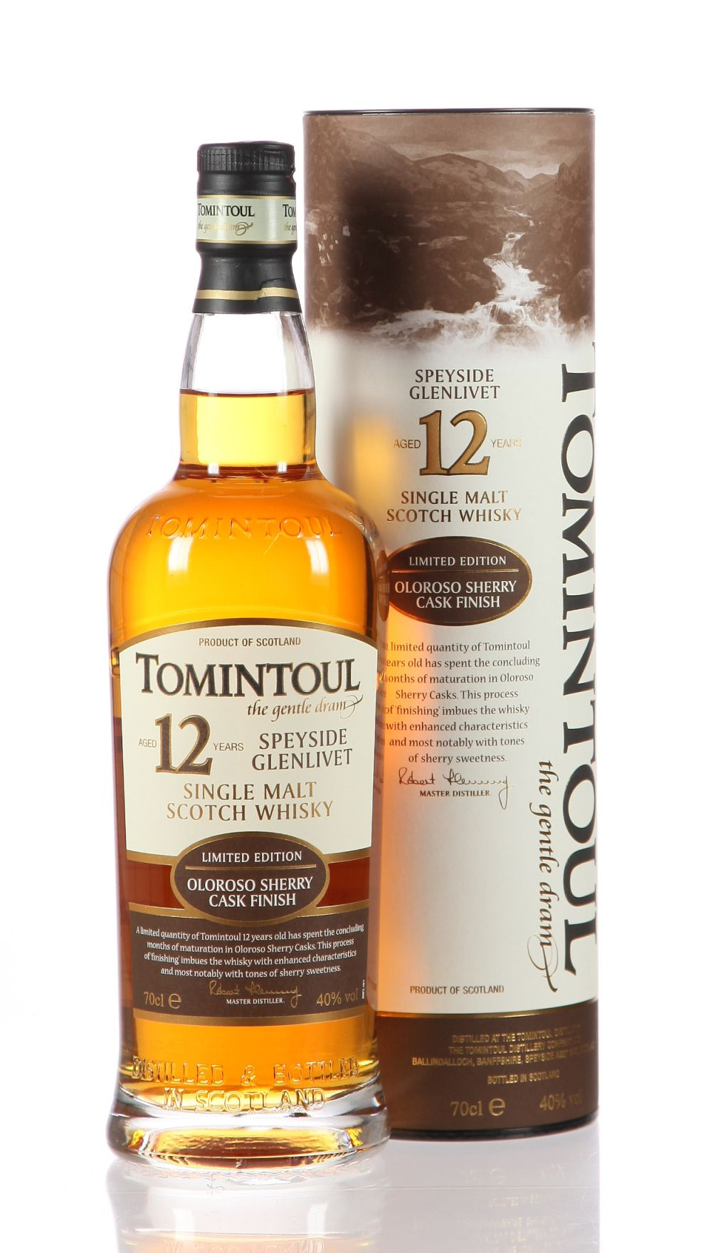 Tomintoul Oloroso Sherry Finish
