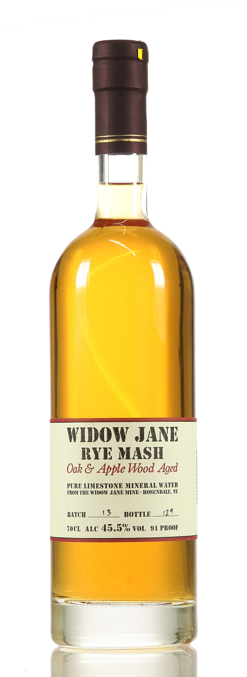 Widow Jane Rye Mash Applewood