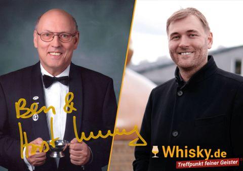 Autogrammkarte Horst Und Benedikt Luning Whisky De Zum Online Shop