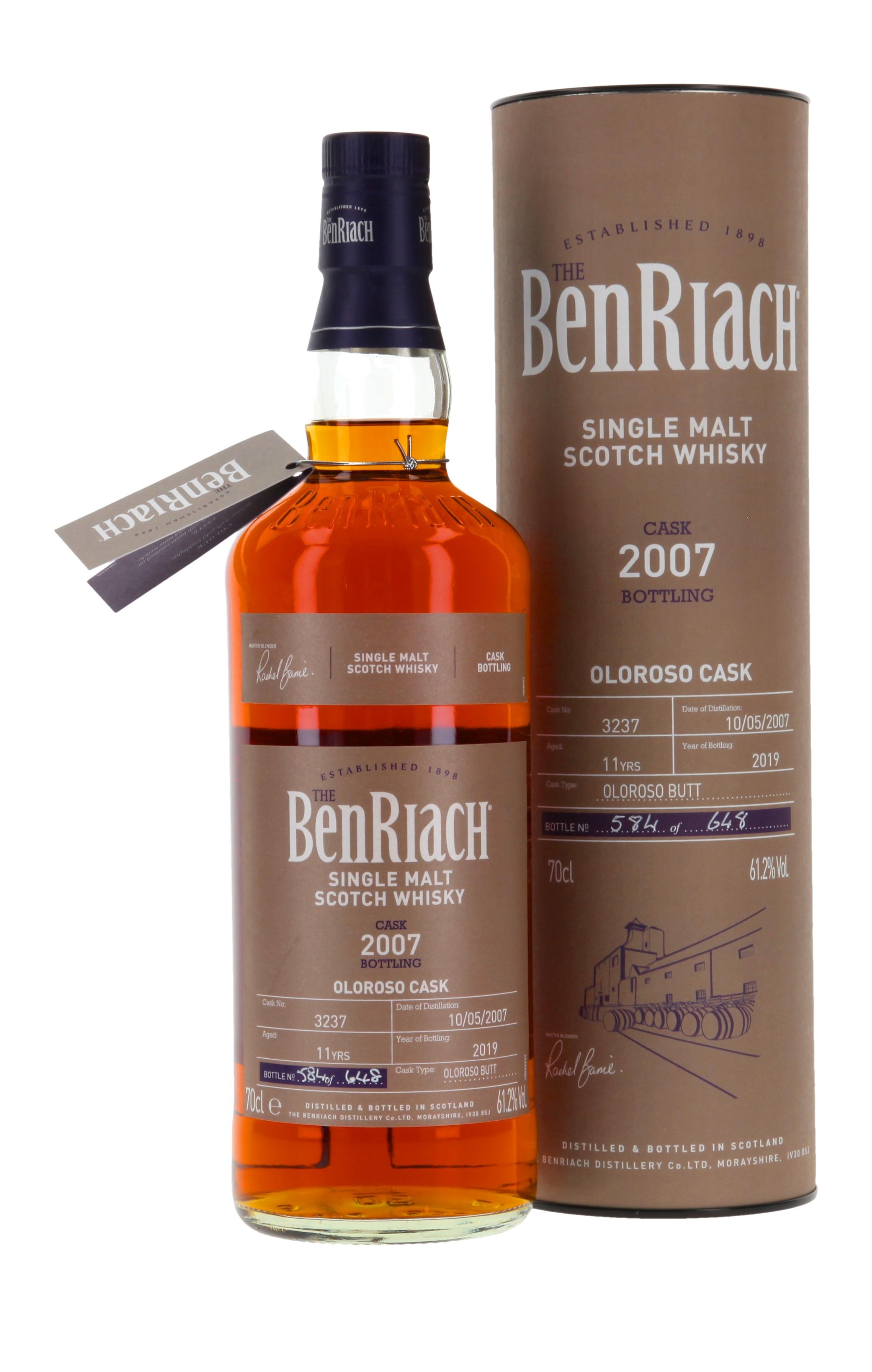 Benriach Single Cask Oloroso