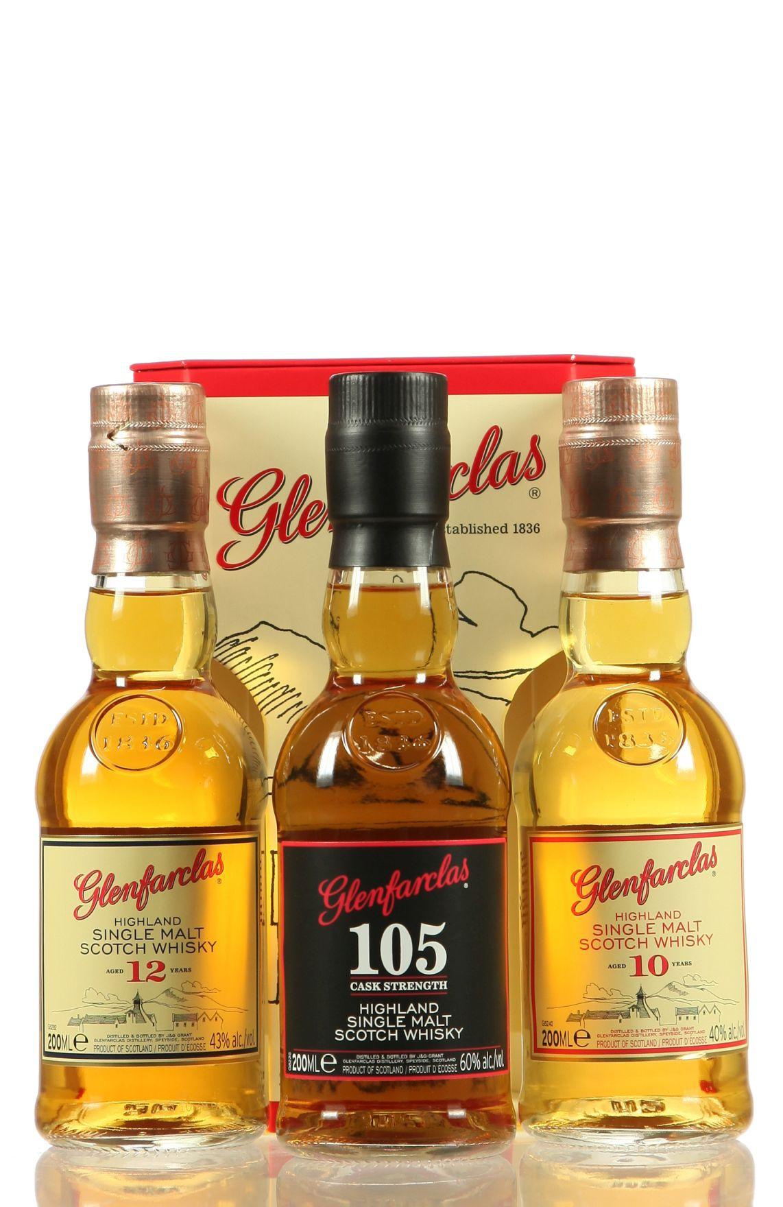 Glenfarclas Triple Pack 10/105/12