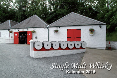 Titelbild des Whisky-Kalenders 2015
